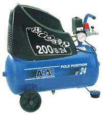 Безмасляный коаксиальный компрессор ABAC Pole Position Plus OM 231 c рапидным соединением