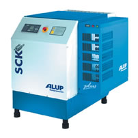 Винтовой компрессор ALUP SCK 15 Plus oil-free*