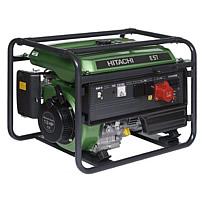 Бензиновый генератор Hitachi E57S_3P(с электро- стартером)