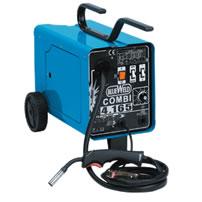 Полуавтоматический комбинированный сварочный аппарат Blueweld COMBI 4.165 Turbo