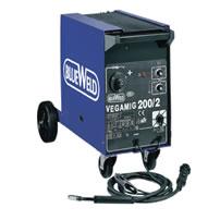 Полуавтоматический сварочный аппарат Blueweld VEGAMIG 200/2 Turbo