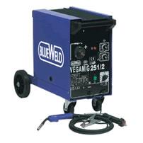 Полуавтоматический сварочный аппарат Blueweld VEGAMIG 251/2 Turbo